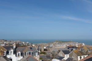 View of St Ives harbour from room 3