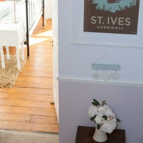 Hallway with St Ives picture