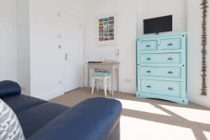 Interior of room 1