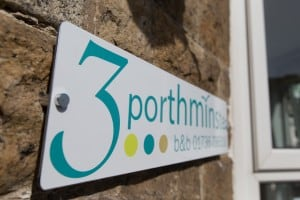 3 Porthminster sign at front of the house